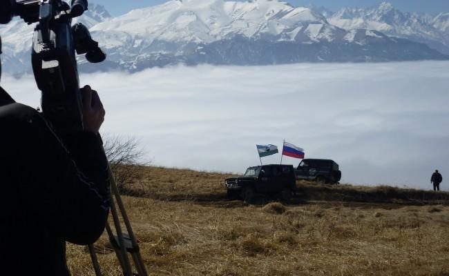 Автопробег посвященный дню возрождения балкарского народа