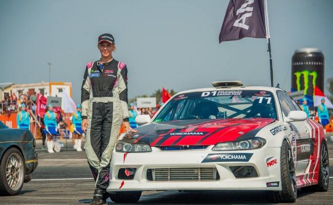 Пилот Yokohama Екатерина Седых стала  единственной девушкой-участницей Asia Pacific D1 PRIMRING Grand Prix